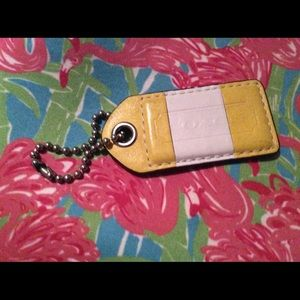 COACH LEATHER replacement hang tag 🏷 EUC
